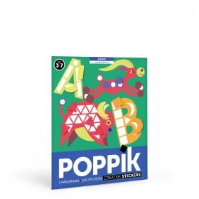 Poppik Les lettres de A à Z...