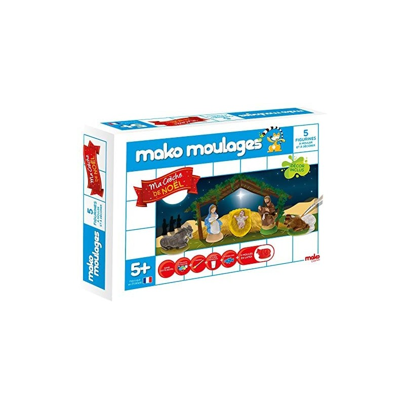 Mako moulage, Ma Crèche de Noël chez jeux-Jouets-Bois