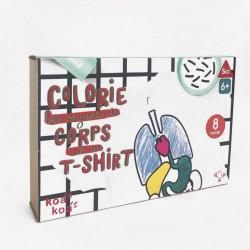 Koa Koa Colorie les organes de ton corps sur un t-shirt T:6ans