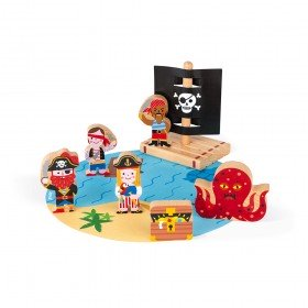 Janod Le Set Pirates Story