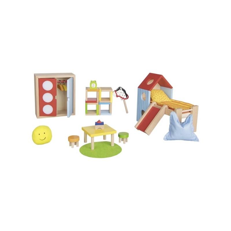 Goki Chambre D'enfants pour Maison de Poupée