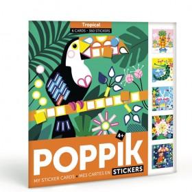 Poppik Stickers Mes cartes...