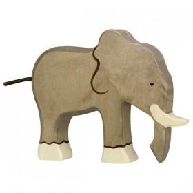 Holztiger Elephant en Bois