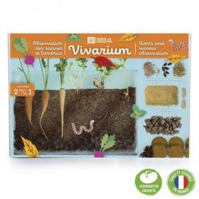 Radis et Capucine Vivarium...
