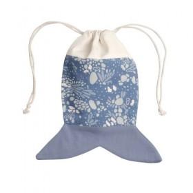 Fabelab Poisson Bleu sac...