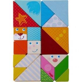 Haba Tangram Mix Multi couleur