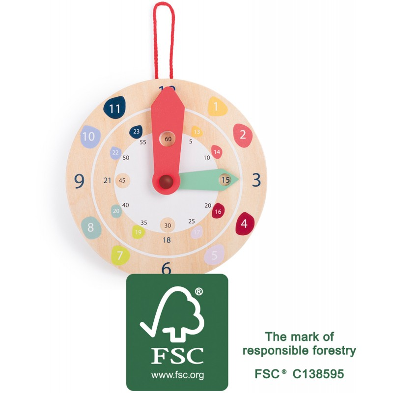 Legler Horloge en Bois