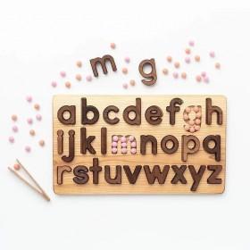 Puzzle en bois l'alphabet...