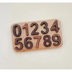 Puzzle en Bois Les Chiffres...