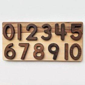 Puzzle en Bois les nombres...