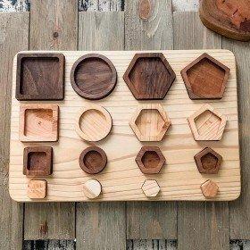 Puzzle en bois les Formes...
