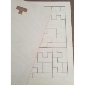 Stuka Puka Tetris en bois...