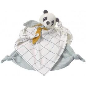 Kikadu doudou Panda Coton Bio
