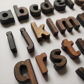 Lettres en bois en...