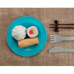 Aliments du monde en pierre sensorielle chez jeux-Jouets-Bois
