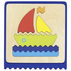 Goki Puzzle Tactile en 3...