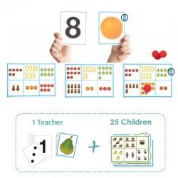 Akros Bingo découvrir les chiffres de 1 à 10