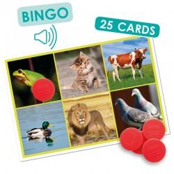 Akros Bingo Audio Les Animaux et la Nature