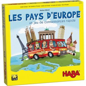 HABA - Les pays d'Europe